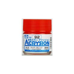 GUNZE Mr Hobby Acrysion Color N092 CLEARORAN0GE 10ml