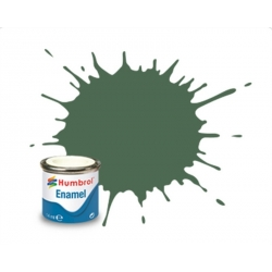 HUMBROL Peinture Enamel 76 UNIFORM GREEN 14ml MATT