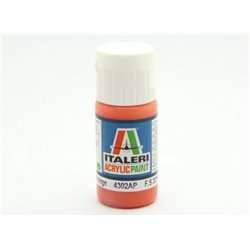 ITALERI Acrylic 4302AP Flat Orange 20ml