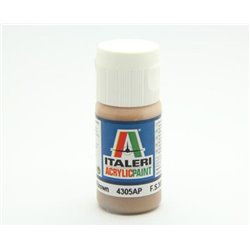 ITALERI Acrylic 4305AP Flat Light Brown 20ml