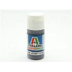 ITALERI Acrylic 4312AP Flat Extra Dark Sea Grey 20ml