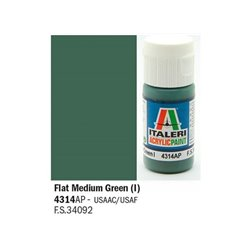 ITALERI Acrylic 4314AP Flat Medium Green (I) 20ml