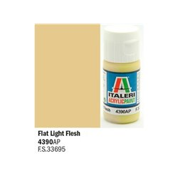 ITALERI Acrylic 4390AP Flat Light Flesh 20ml