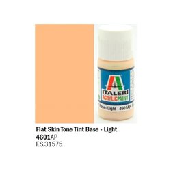 ITALERI Acrylic 4601AP Flat Skin Tone Tint Base – Light 20ml