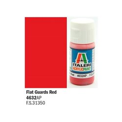 ITALERI Acrylic 4632AP Flat Guards Red 20ml