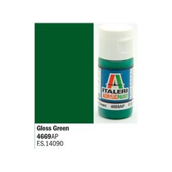 ITALERI Acrylic 4669AP Gloss Green 20ml