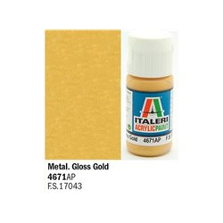 ITALERI Acrylic 4671AP Gloss Gold 20ml