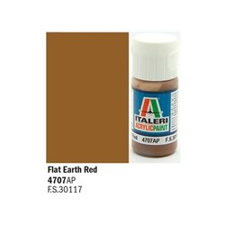 ITALERI Acrylic 4707AP Flat Earth Red 20ml