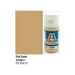 ITALERI Acrylic 4720AP Flat Sand 20ml