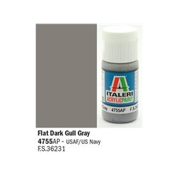 ITALERI Acrylic 4755AP Flat Dark Gull Gray 20ml
