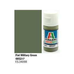 ITALERI Acrylic 4852AP Flat Military Green 20ml