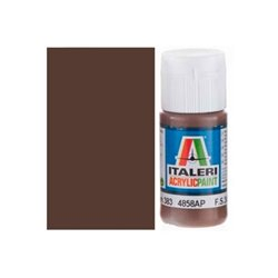 ITALERI Acrylic 4858AP Flat Brown 383 20ml