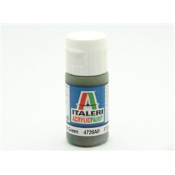 ITALERI Acrylic 4726AP Flat Dark Green 20ml