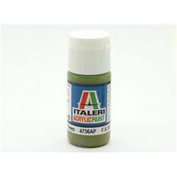 ITALERI Acrylic 4736AP Flat Interior Green 20ml