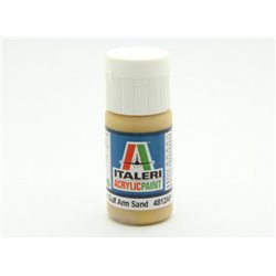ITALERI Acrylic 4812AP Flat US Army/Mar,Gulf Arm Sand 20ml