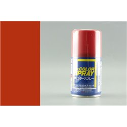 GUNZE Mr Color Bombe - Spray S075 METALLIC RED 100ml