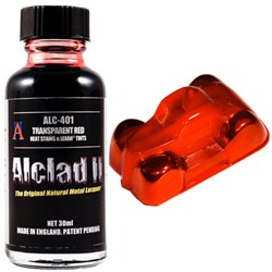 Alclad II Lacquers ALC-401 Red Clear 30ml