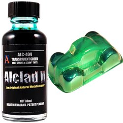 Alclad II Lacquers ALC-404 Green Clear 30ml