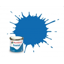 HUMBROL Peinture Enamel 52 BALTIC BLUE 14ml METALLIC