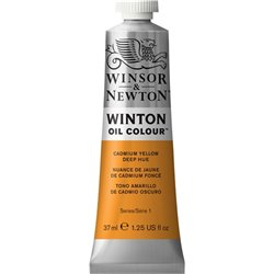 Winsor & Newton Winton 115 Cadmium Yellow Deep Hue 37ml