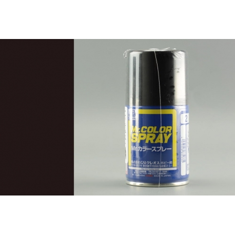 GUNZE Mr Color Spray S2 BLACK