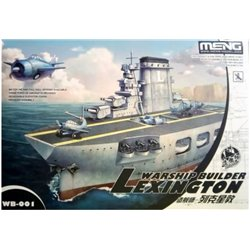 Meng WB-001 Egg Warship builder Aircraft carrier Lexington