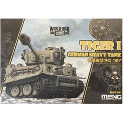 Meng WWT-001 Egg World War Toons Tiger I German Heavy Tank