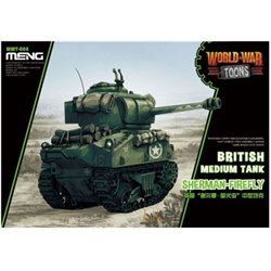 Meng WWT-008 Egg World War Toons Sherman-Firefly British Medium Tank