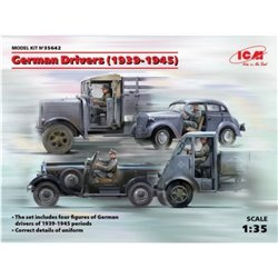 ICM 35642 1/35 German Drivers 1939-1945