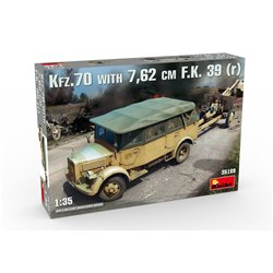 Miniart 35189 1/35 Kfz. 70 with 7.62cm F.K. 39 (r)