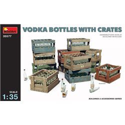 Miniart 35577 1/35 Vodka & Schnaps Bottles with Crates