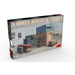 MINIART 35581 1/35 Wooden Boxes and Crates (WW2 and modern Era)