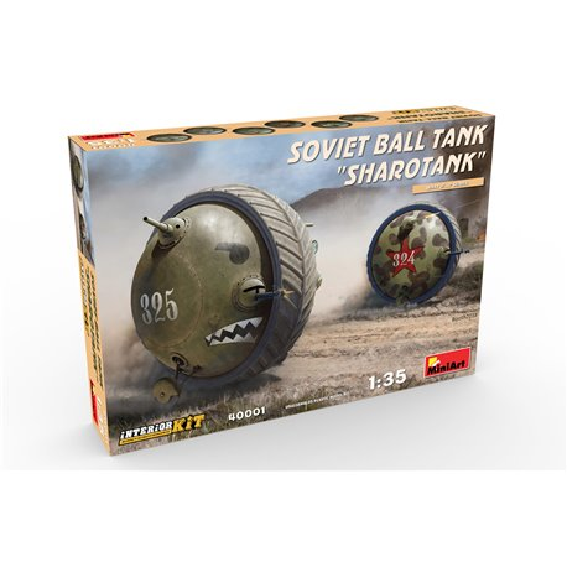 "Miniart 40001 1/35 Soviet (What If...? Series) Ball Tank ""Sharotank"" Interior Kit"