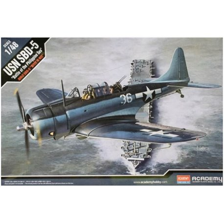 "Academy 12329 1/48 USN SBD-5 ""Battle of the Philippine Sea"""