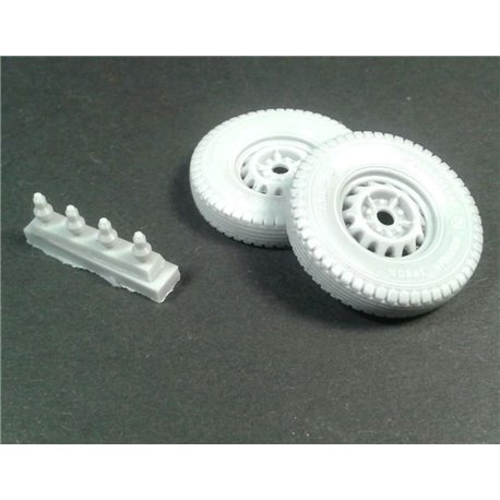PANZER ART RE35-553 1/35 Road wheels for GAZ-67&BA-64 Jaroslavskij Szinnyj Zavod