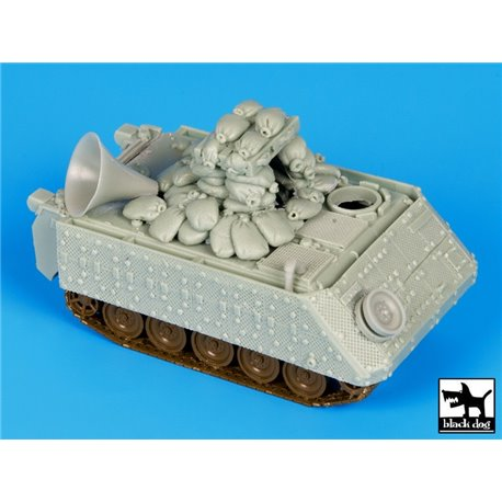 Black Dog T72073 1/72 IDF M113 With Loudspeaker Conversion Set