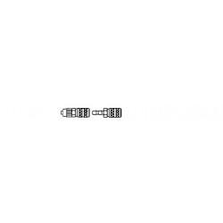 Black Dog T72101 1/72 M4A3 105MM HVSS Accessories Set