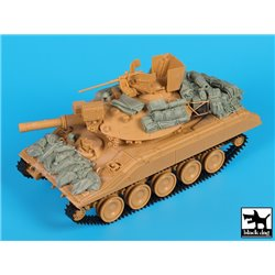 Black Dog T35172 1/35 M551 Sheridan Gulf War Accessories Set