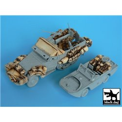 Black Dog T72016 1/72 M3 Half Track+Amphibian Vehicle Accessories Set