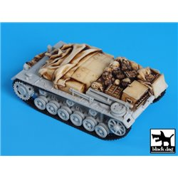 Black Dog T72020 1/72 Sturmgeschutz III E Accessories Set