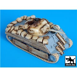 Black Dog T72021 1/72 M4A3 Iwo Jima Accessories Set