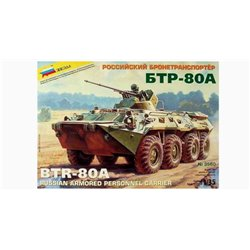 ZVEZDA 3560 1/35 BTR-80A Armored Personnel Carrier (APC)