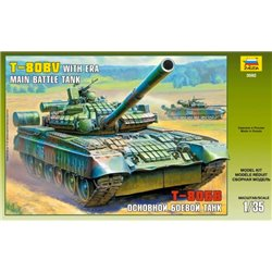ZVEZDA 3592 1/35 Main Battle Tank T-80BV with ERA
