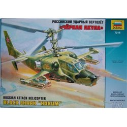 "ZVEZDA 7216 1/72 Russian Attack Helicopter Black Shark ""Hokum"""