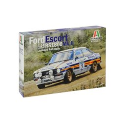 ITALERI 3650 1/24 Ford Escort RS1800 Mk.II Lombard RAC Rally