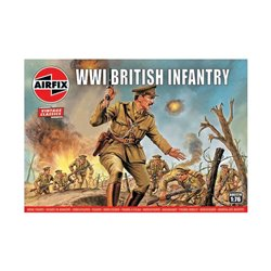 AIRFIX A00727V 1/76 WWI British Infantry Vintage Classics