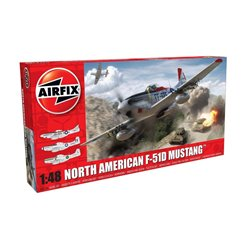 AIRFIX A05136 1/48 North American F-51D Mustang
