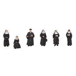 Faller 155360 HO 1/87 Nuns and parson