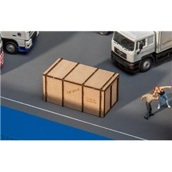FALLER 180959 HO 1/87 Caisse en bois - Wooden crate