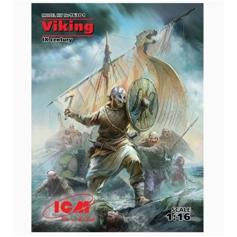 ICM 16301 1/16 Viking IX Century